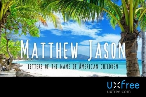 Download Matthew Jason Kid font (typeface)