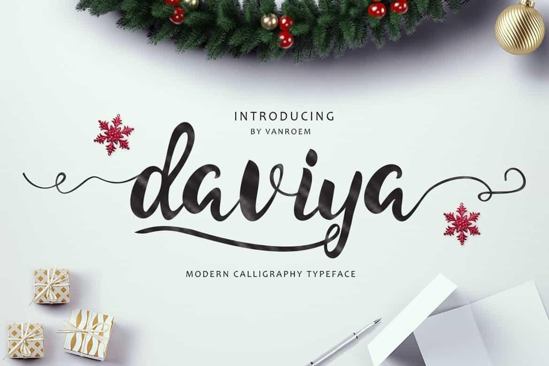 Download Daviya font (typeface)