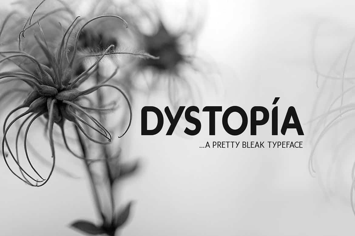 Download Dystopia font (typeface)