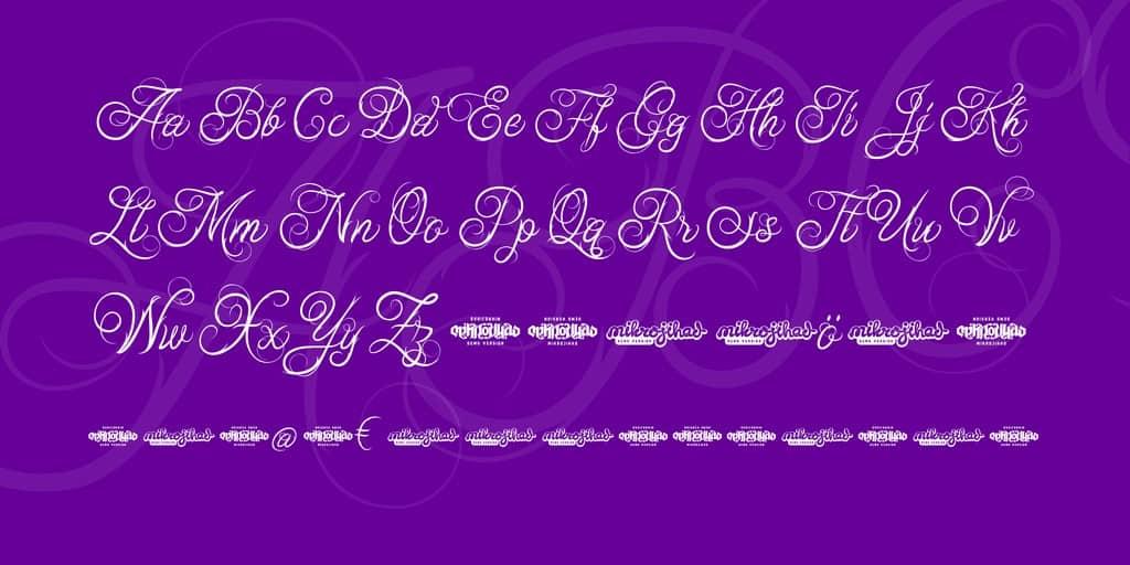 Download Ababil Script Standard font (typeface)