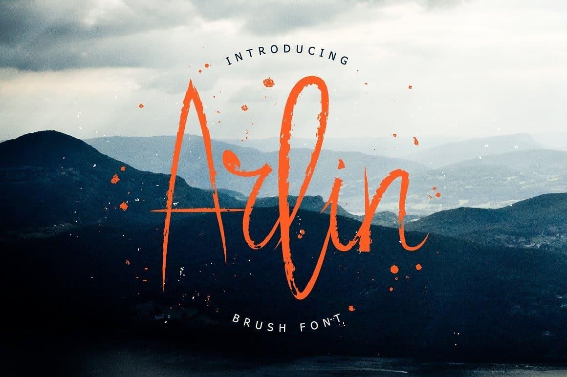 Download Arlin font (typeface)