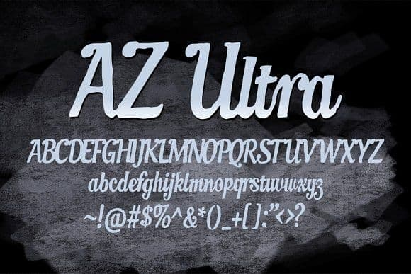 Download AZ Ultra font (typeface)