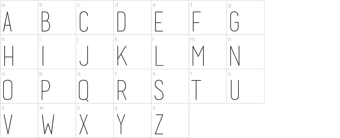 Download Basic Title font (typeface)