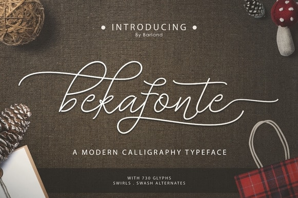 Download Bekafonte Typeface font (typeface)