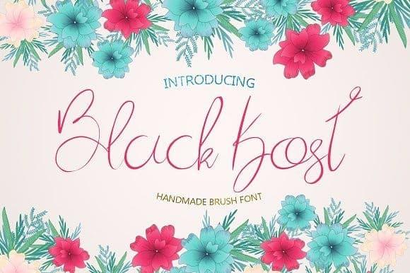 Download Black Kost font (typeface)