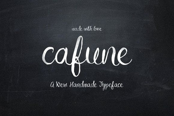 Download Cafune font (typeface)