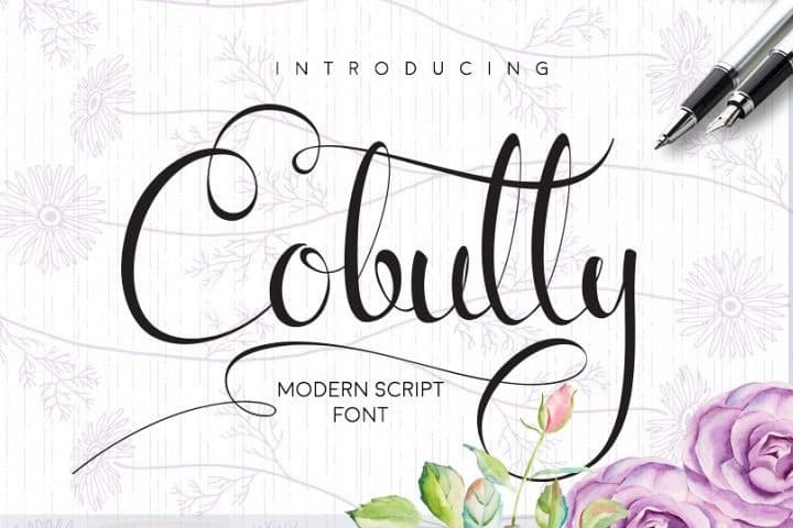 Download Cobully font (typeface)