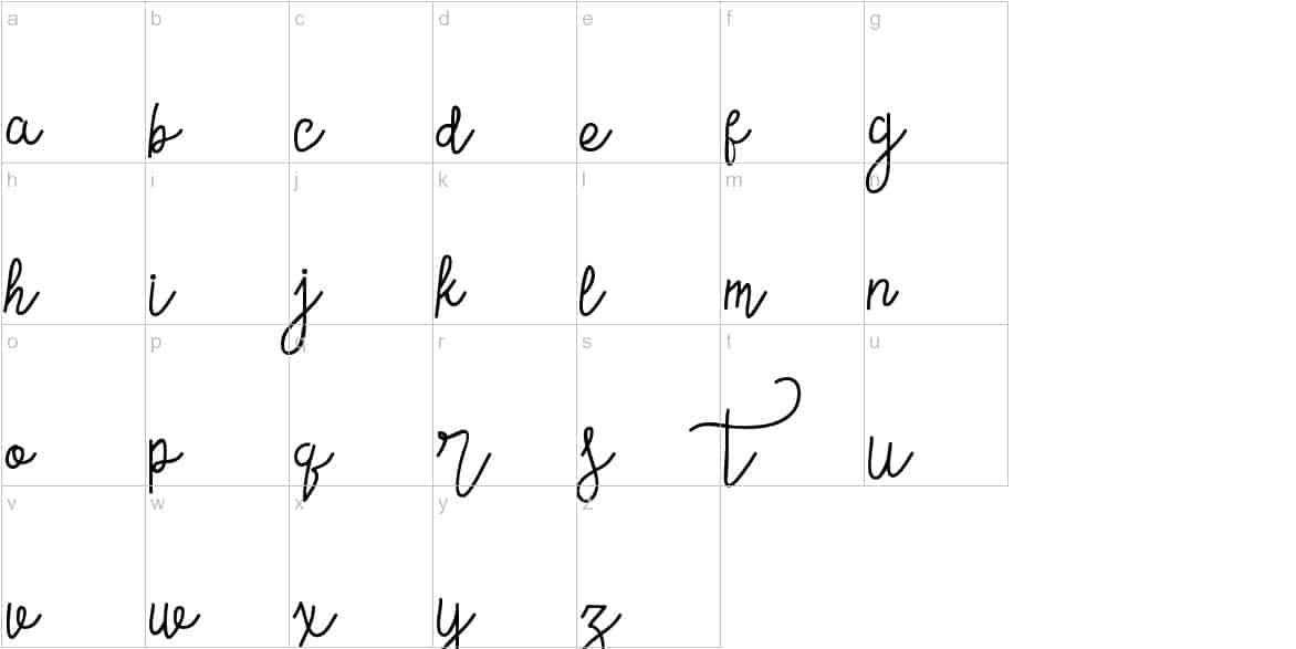 Download Contento Script font (typeface)