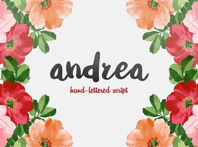 Download Andrea font (typeface)