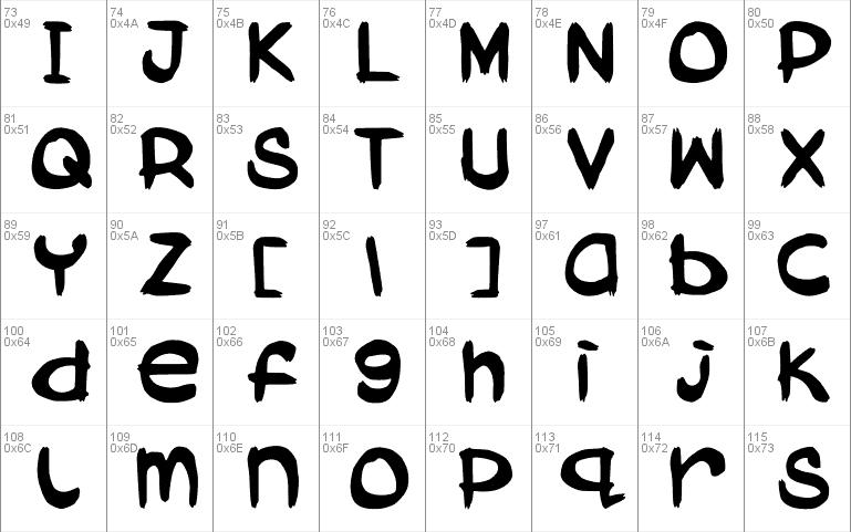 Download Aboki Dreadlock Jam Suya font (typeface)