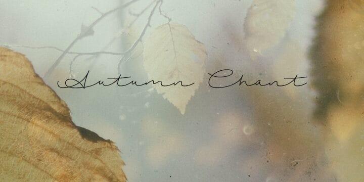Download Autumn Chant font (typeface)