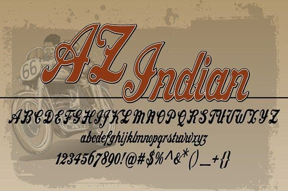 Download AZ Indian font (typeface)