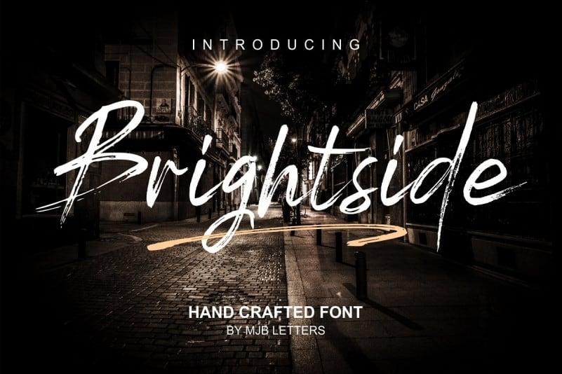 Download Brightside font (typeface)
