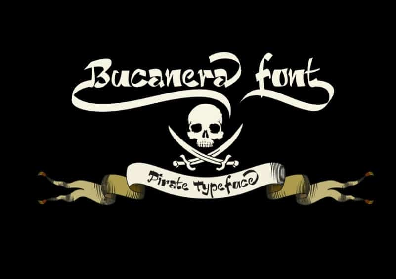 Download Bucanera font (typeface)