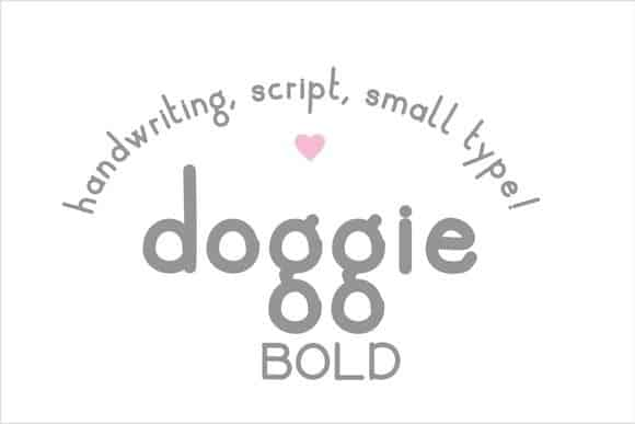 Download Doggie font (typeface)
