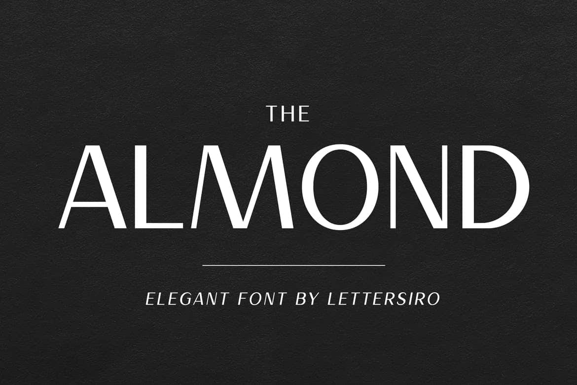 Download Almond font (typeface)