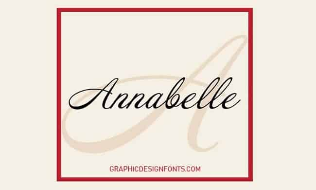 Download Annabelle font (typeface)