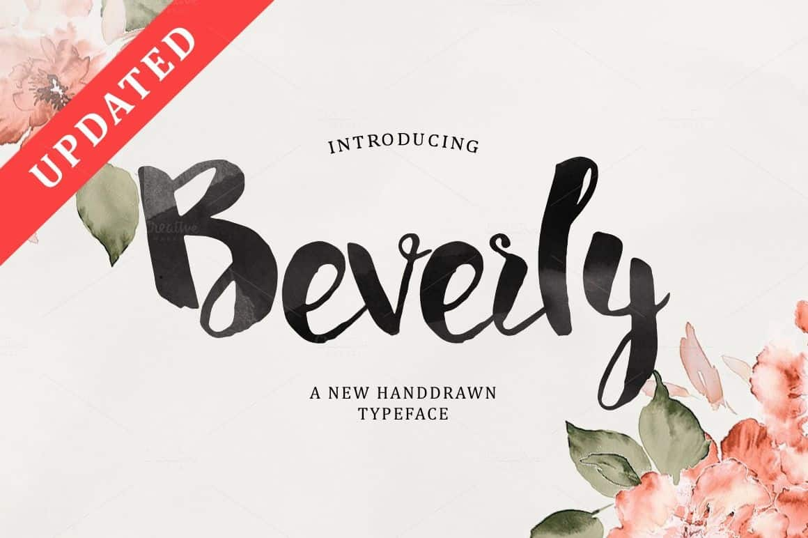 Download Beverly font (typeface)