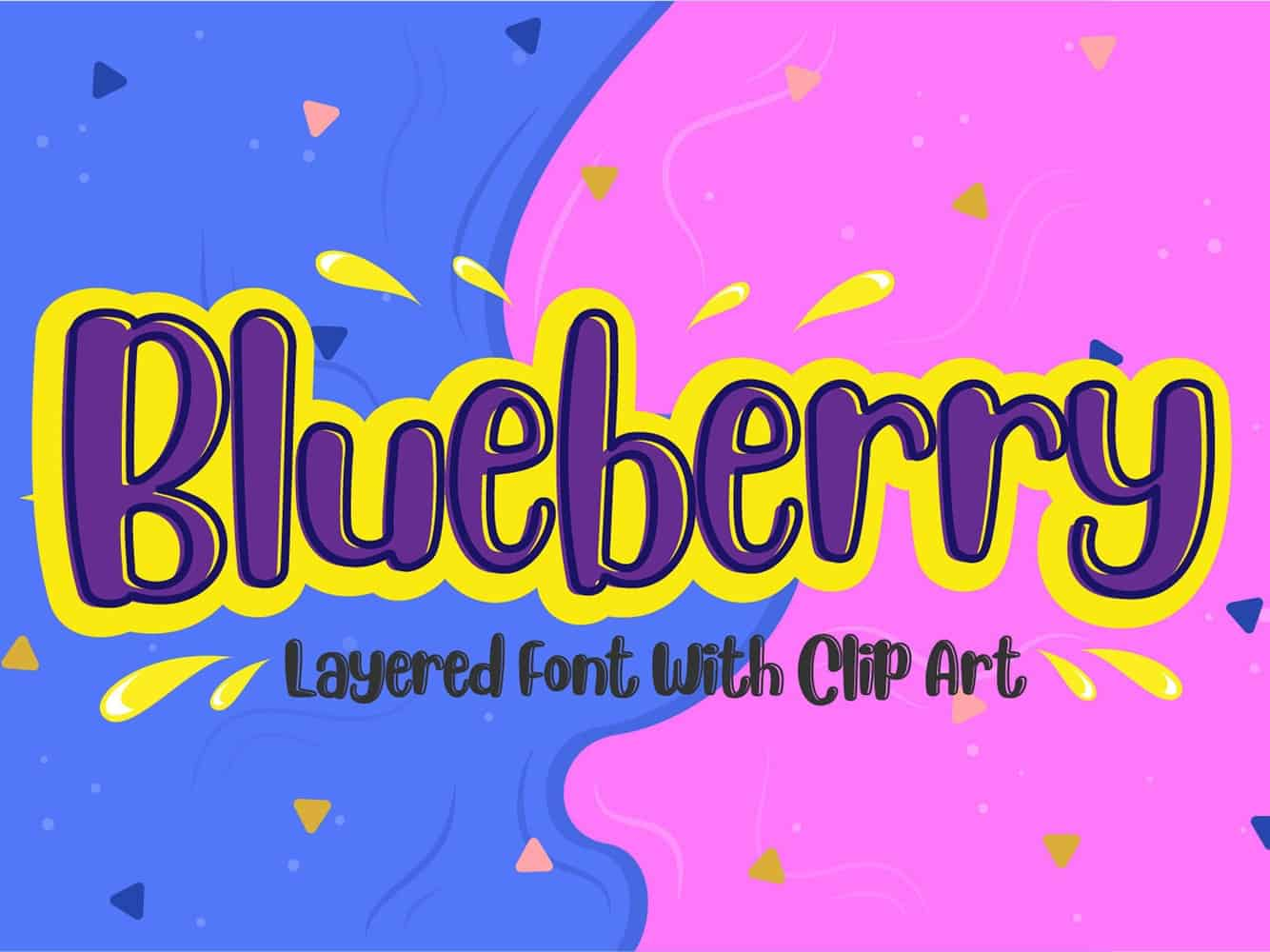 Download Blueberry font (typeface)