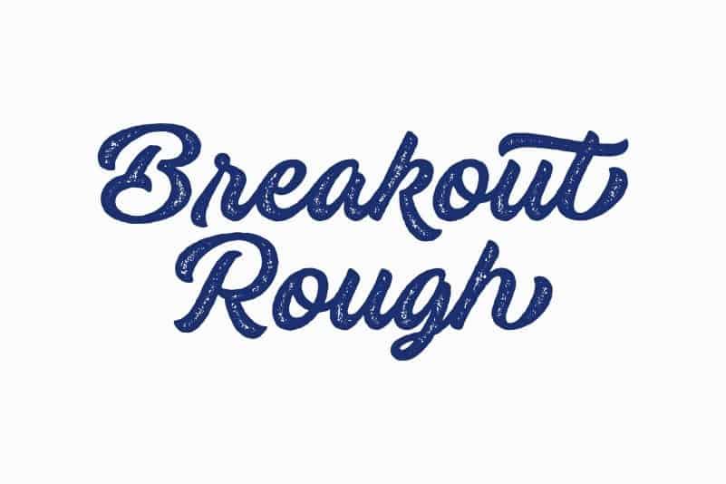 Download Breakout font (typeface)
