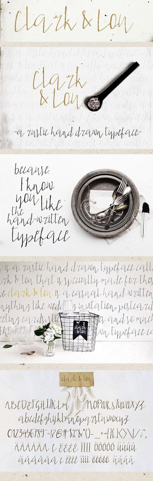 Download Clark and Lou font (typeface)
