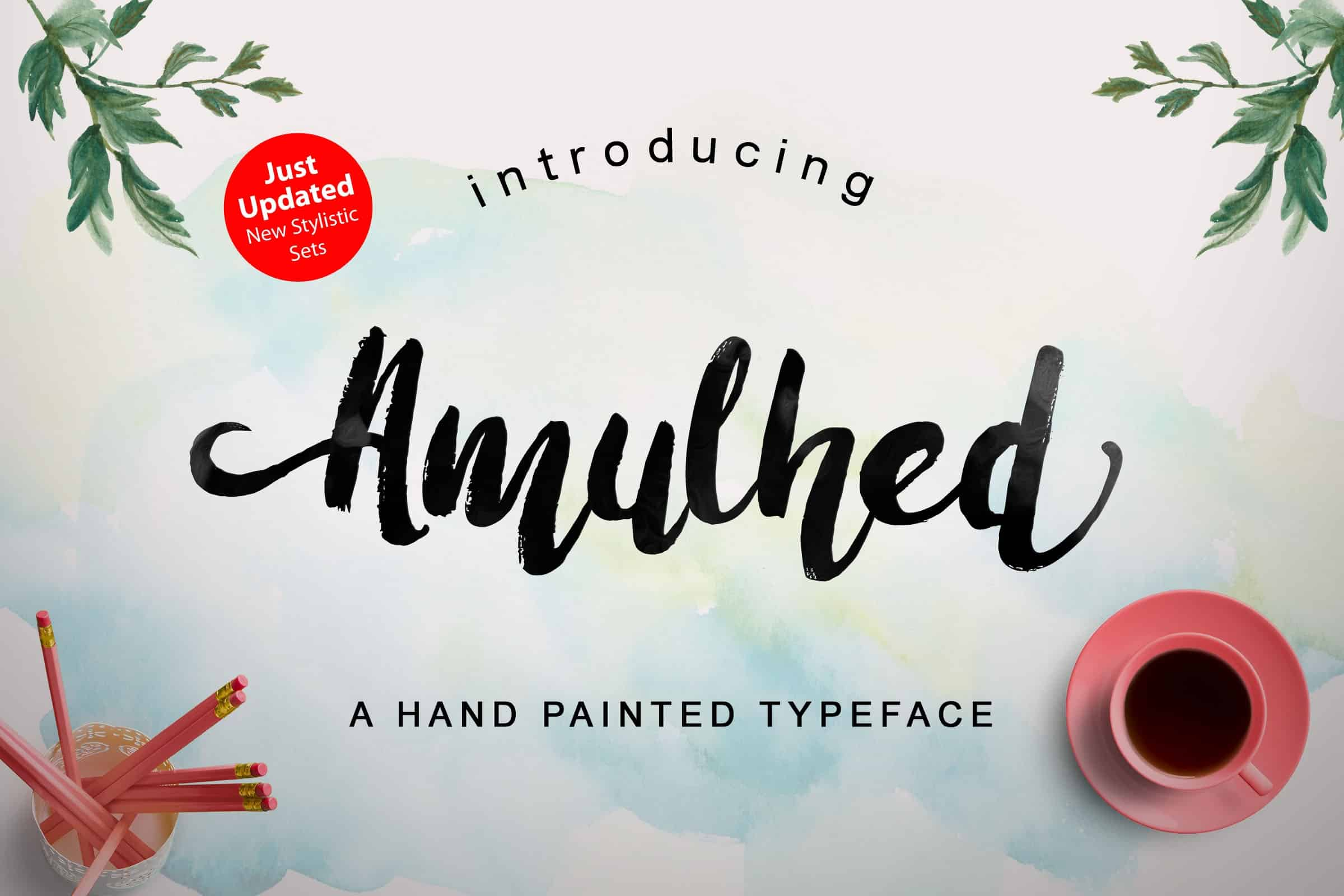 Download Amulhed brush font (typeface)