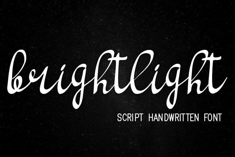 Download Brighlight font (typeface)