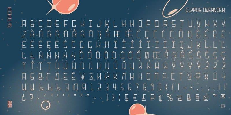 Download SK Fencer font (typeface)