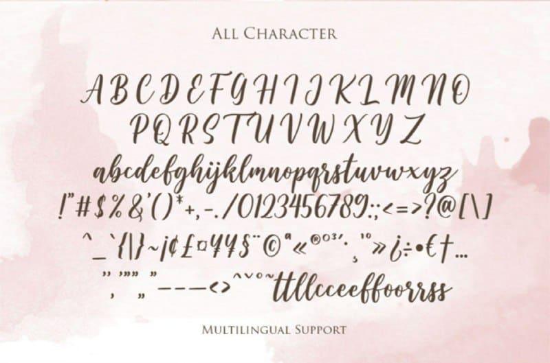 Download Wishper font (typeface)