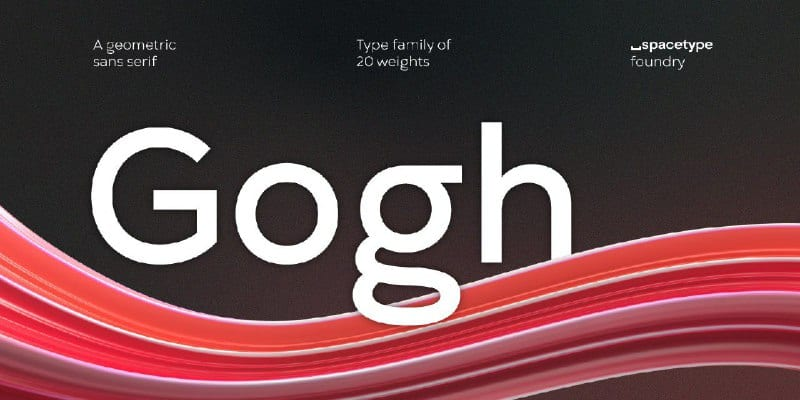 Download Gogh font (typeface)