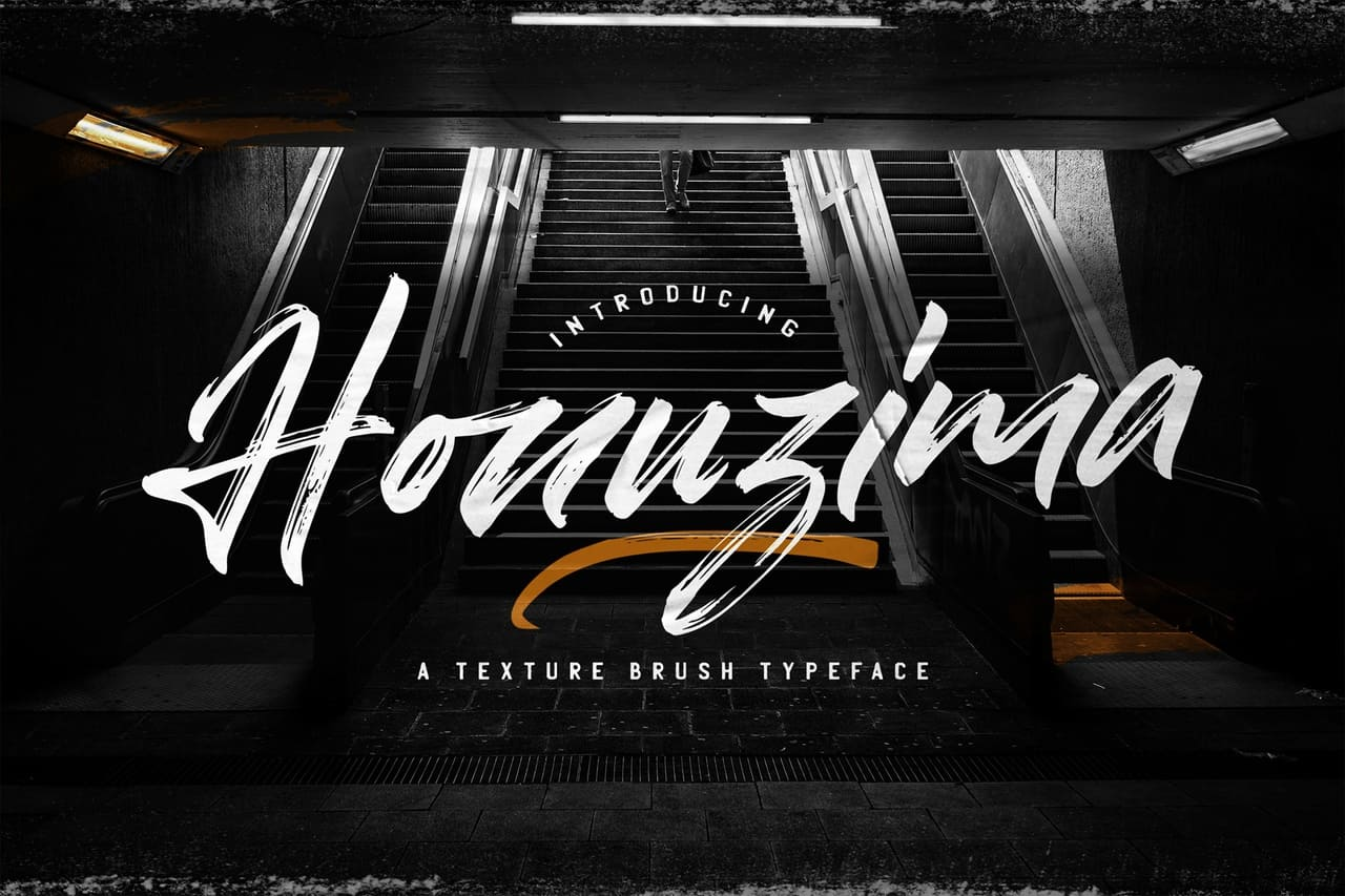 Download Honuzima font (typeface)