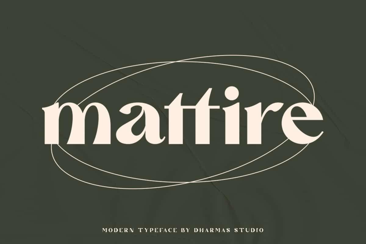 Download Mattire font (typeface)