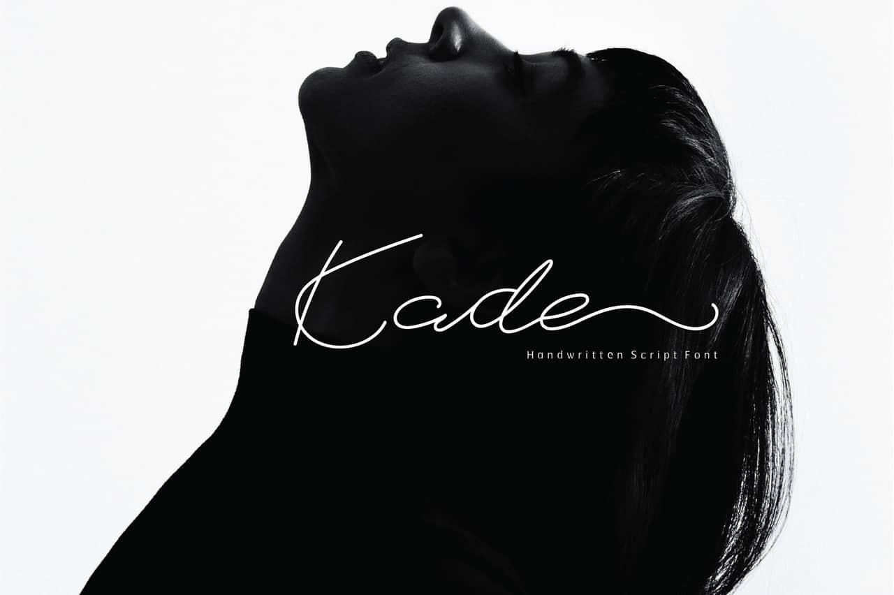 Download Kade font (typeface)