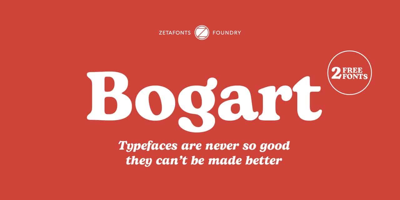 Download Bogart font (typeface)