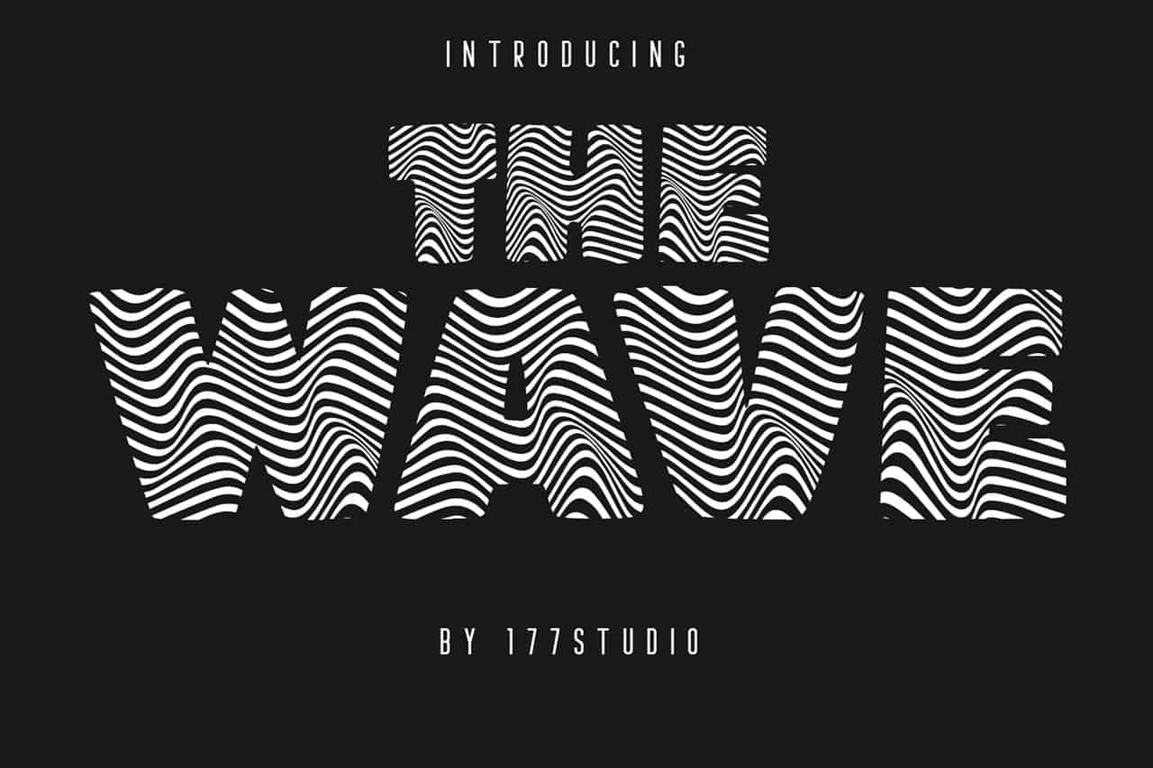 Download The Wave font (typeface)