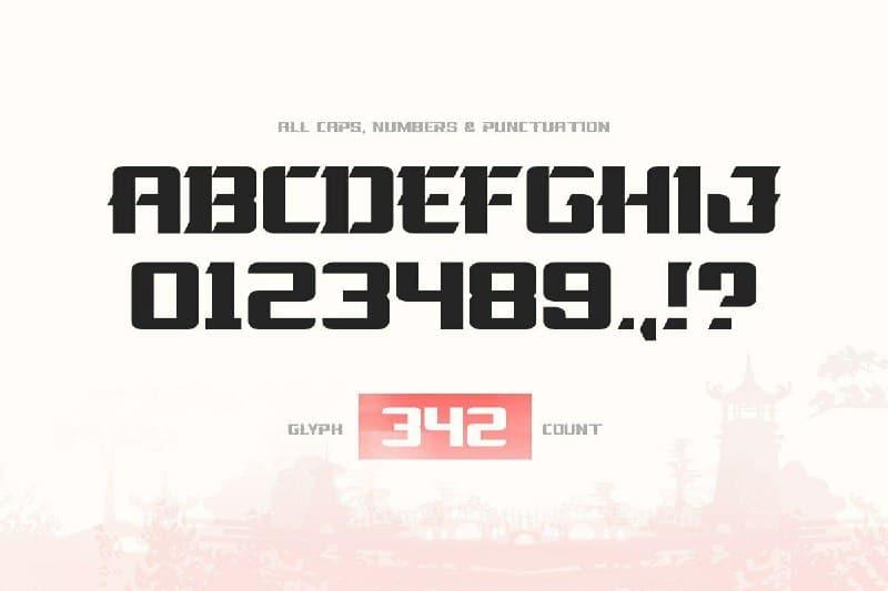 Download La Oriental font (typeface)