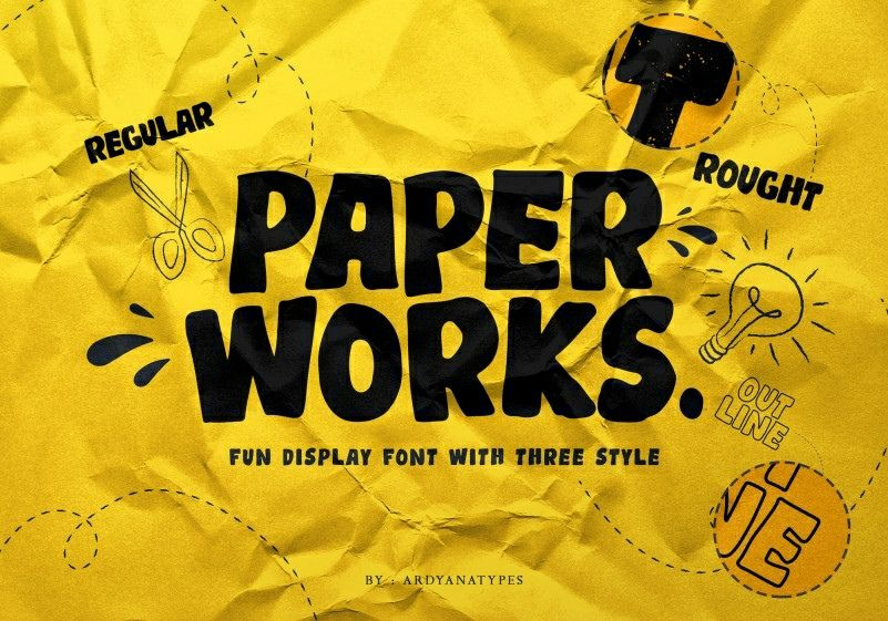 Download Paperwork font (typeface)