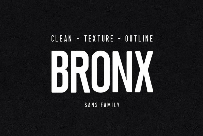 Download Bronx font (typeface)