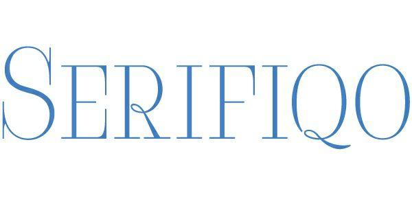 Download Serifiqo font (typeface)