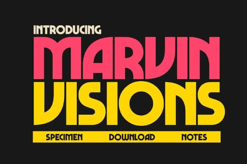 Download Marvin Vision font (typeface)