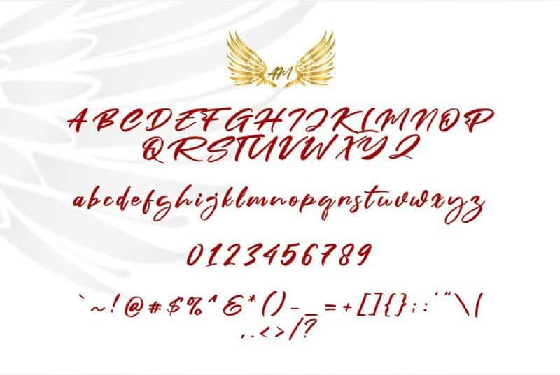 Download Fain Pnospen font (typeface)
