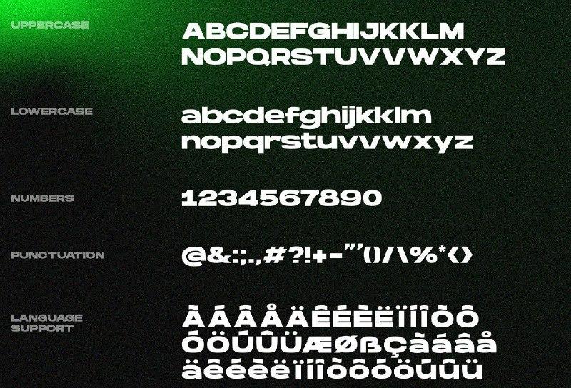 Download Hanson Bold font (typeface)