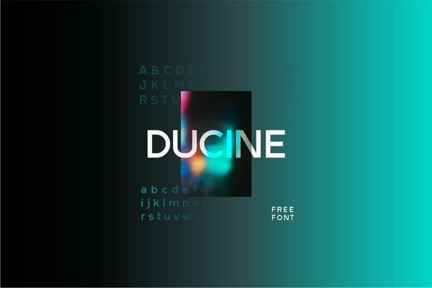 Download Ducine font (typeface)