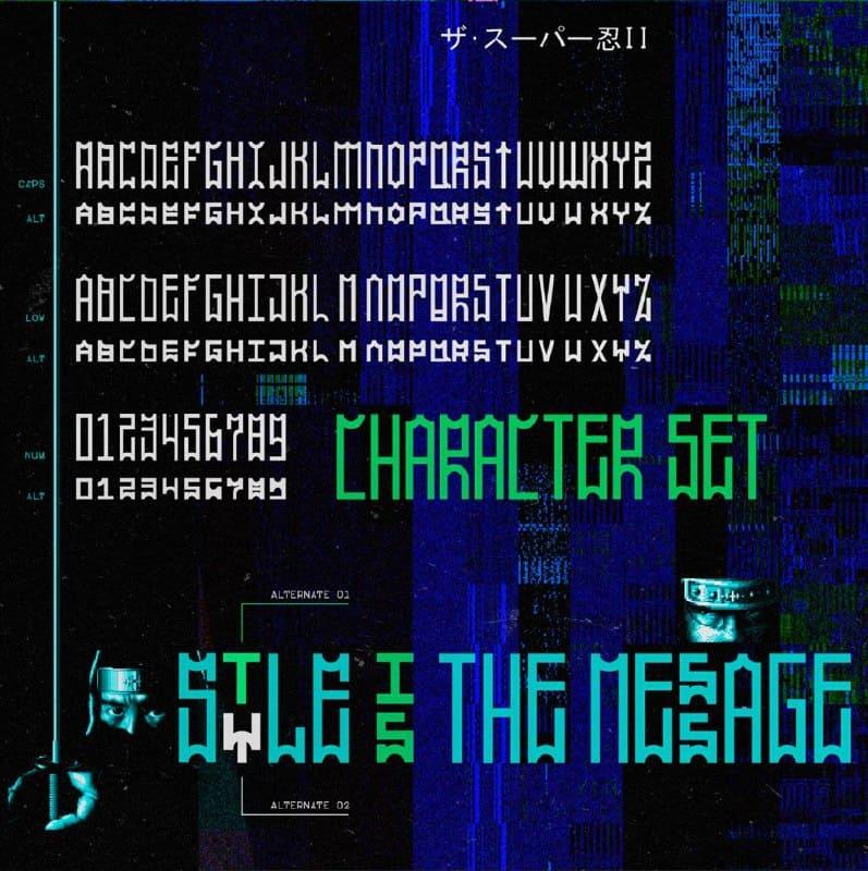 Download SP011 font (typeface)