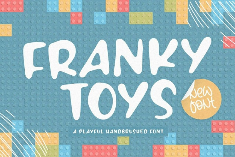 Download Franky Toys font (typeface)