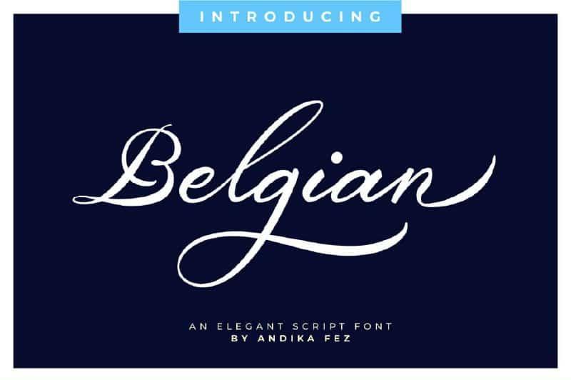 Download Belgian font (typeface)