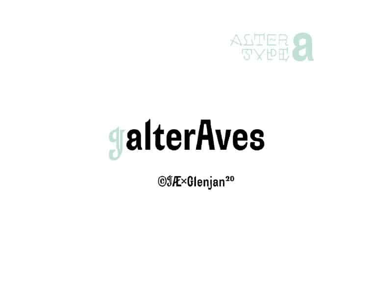 Download Alter Aves font (typeface)