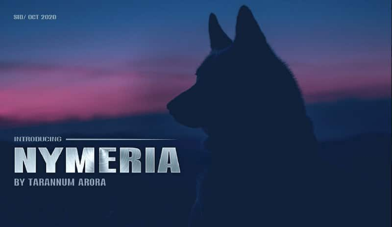 Download Nymeria font (typeface)