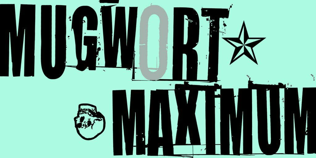 Download Mugwort Maximum font (typeface)