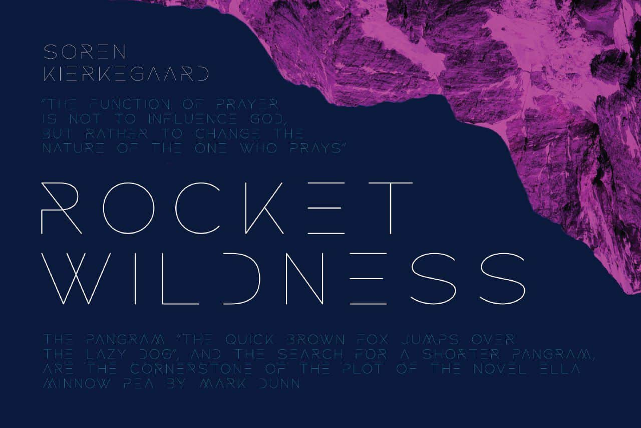 Download Rocket Wildness font (typeface)
